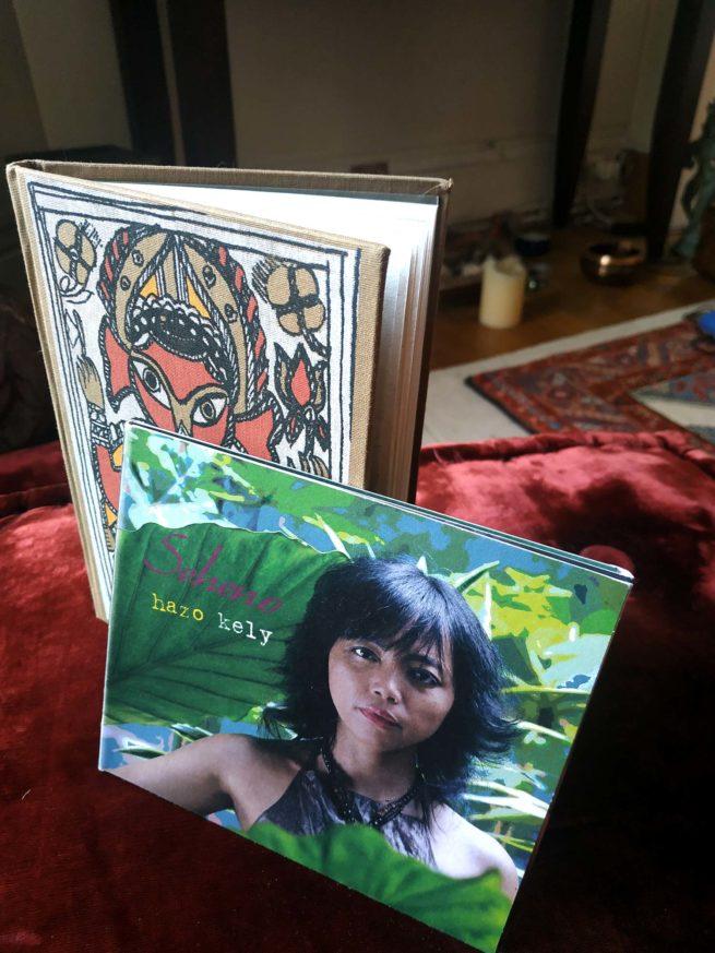 Hazo Kely album Carnet de note papier fait main cadeau