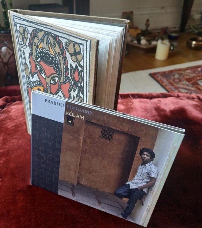 Pack cadeau Prabhu Edouard Kolam carnet de voyage