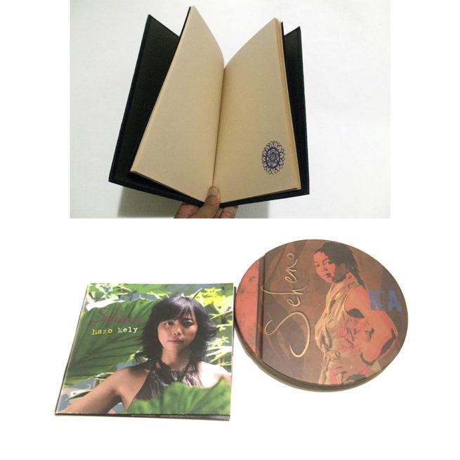 albums Seheno - Carnet de voyage noir fait main
