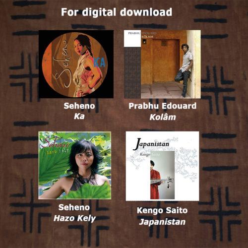 Prabhu Edouard, Seheno, Kengo Saito - for digital download